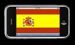 photo of Spanish phone