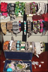 Photo of Louise's bracelets