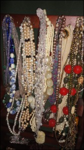 Photo of Louise's necklaces