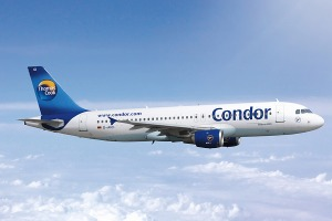 photo of Condor airliner