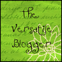 the versatile blogger award logo