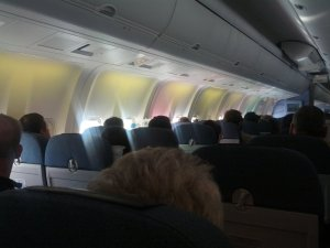 photo of interior of our Condor 767