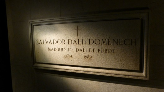 photo of dali's crypt