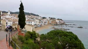 Downtown Calella