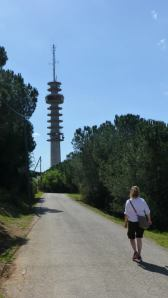 photo of radio tower