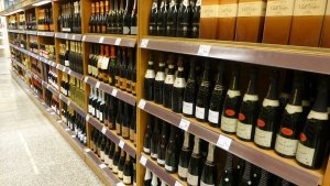 shelves of cava