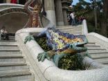 Mosaic salamander