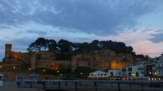 tossa at night
