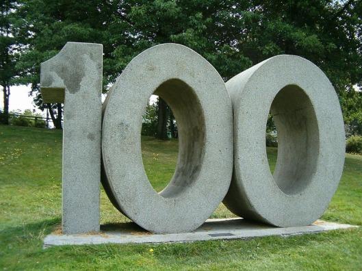100 sculpture