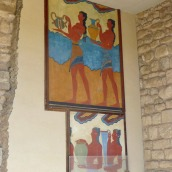 Wall drawings (recreations).