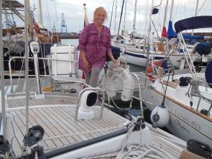 Me aboard Merlyn III