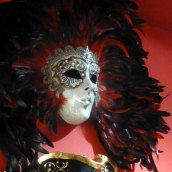 A mask for the Carnival of Venice