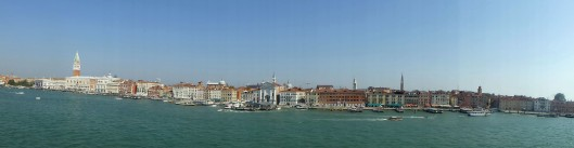 Arriving at Venice