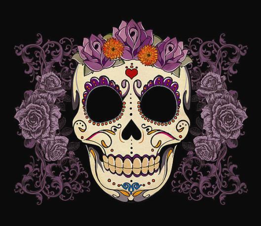 vintage-sugar-skull-and-roses-tammy-wetzel