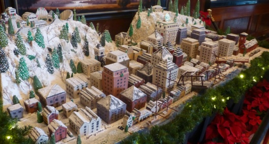 Downtown Portland in gingerbread