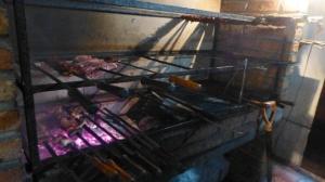 The fire pit at La CaipIrinha.
