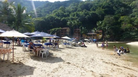 The beach at Boca