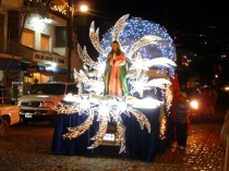 The Our Lady of Guadalupe parade, courtesy www.discoveryvallarta.com/