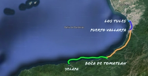 Yelapa map