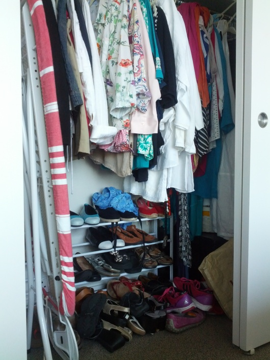 Picture of Louise's closet