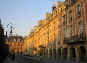 The Place des Vosges in Le Marais