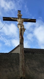 Crucifix at the church