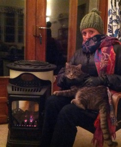 Louise, Mimi, and the French stove