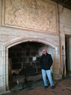 The fireplaces are REALLY BIG!