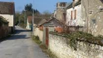 A back street in Martizay