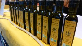 Plenty of hemp oil; Tom was disappointed to find no hemp beer.