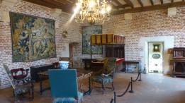 A bedroom at Clos de Lucé
