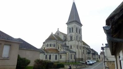 L'abbatiale Saint Pierre de Preuilly