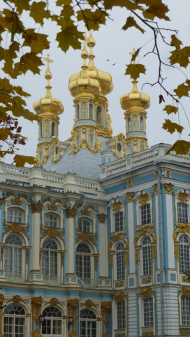 Catherine Palace trimmed in gold