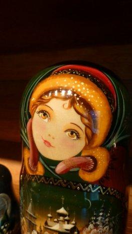 Matryoshka closeup