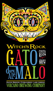 "Two beers (only) are offered: Gato Malo (""Mad Cat"") and Witch's Rock. Witch's Rock is a perfect hot-day session beer."