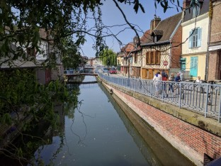 "Amiens is known as the ""Venice of France"""
