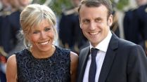 Brigitte and French President Emmanuel Macron